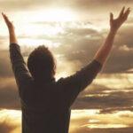Только благодарение верой и хвала достигнут цели