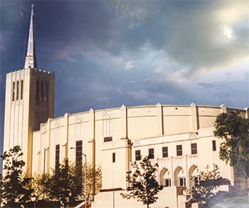 Кафедральный собор, в центре Форт Ворта, 1976